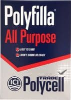 Polycell Polyfilla All Purpose Powdered Filler - 2kg Trade